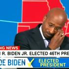 Van Jones de CNN en larmes pour la victoire de Biden: `` Le caractère compte, la vérité compte ''