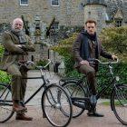 Sam Heughan et Graham McTavish de l'Outlander définissent la première de `` Men in Kilts '' à Starz