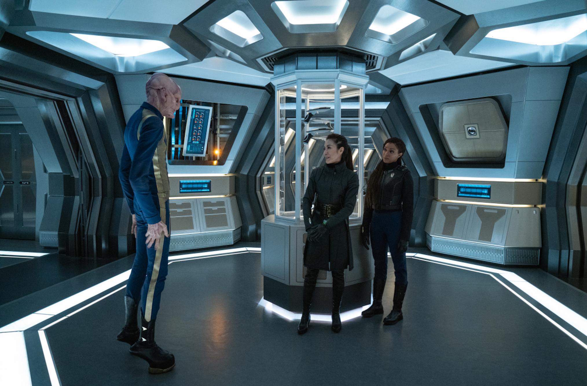 Saru Georgiou Michael Star Trek Discovery Saison 3