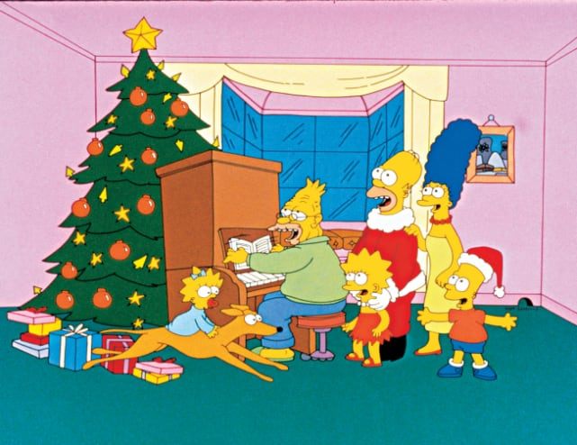 """""""Simpsons rôtissant sur un feu ouvert"""" - Les Simpsons"""