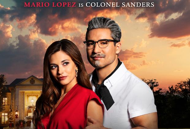 Mario Lopez est le beau colonel Sanders dans le film à vie / KFC – Regardez la bande-annonce