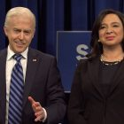 SNL: Alex Moffat succède à Jim Carrey en tant que président élu Joe Biden - REGARDER