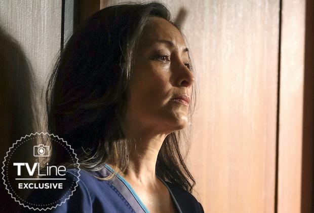 Christina Chang, du bon docteur, évoque le SSPT de Lim (« C'est le début de la pause ») et cette scène finale