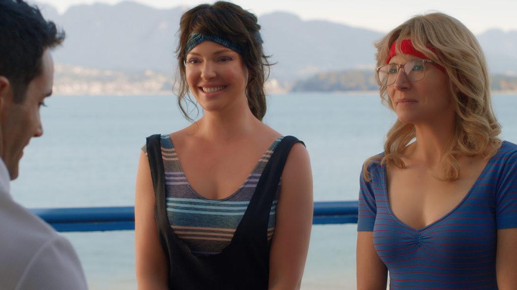 Katherine Heigl et Sarah Chalke de Firefly Lane en avant-première sur l'amitié féroce de Tully et Kate