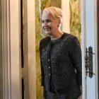 Kate Burton, de `` Scandal '', emmène son fils prodigue à l'école de l'étiquette (PHOTO)