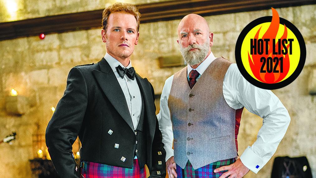 Hot Scots: Sam Heughan et Graham McTavish de 'Men in Kilts'