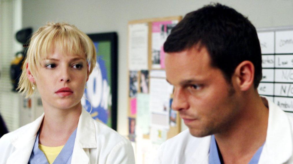 Grey's Anatomy: Katherine Heigl n'est pas heureuse qu'Alex ait retrouvé Izzie