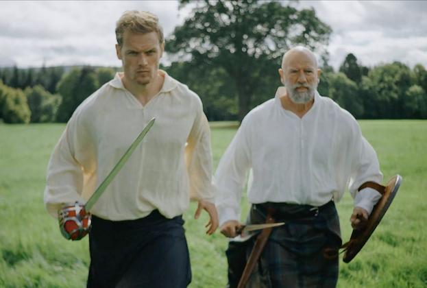 Sam Heughan et Graham McTavish de Men in Kilts partent pour un voyage en kilt en bande-annonce complète – Découvrez quand il sera présenté en première