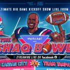 Shaquille O'Neal annonce le coup d'envoi du `` Shaq Bowl '' au grand match