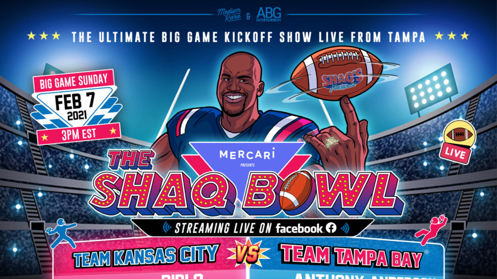 Shaquille O'Neal annonce le coup d'envoi du « Shaq Bowl » au grand match