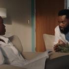 `` The Resident '': Mina et AJ établissent des règles pour leur vie romantique et professionnelle (VIDEO)