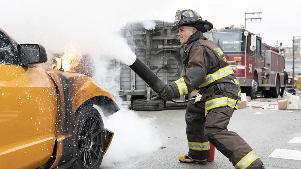 David Eigenberg Herrmann et Cruz de Chicago Fire doivent « prendre des décisions difficiles »