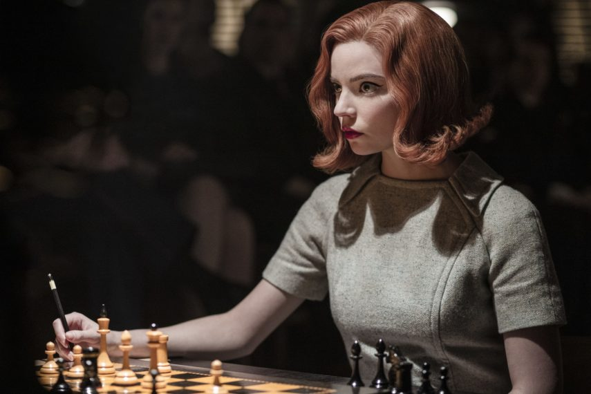 Le gambit de la reine Anya Taylor-Joy