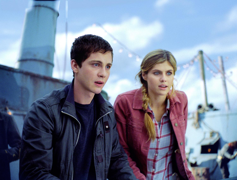 Logan Lerman, Alexandra Daddario Percy Jackson Sea of Monsters