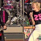 Voir Miley Cyrus jouer avec Billy Idol et Joan Jett dans l'avant-spectacle du Super Bowl (VIDEO)