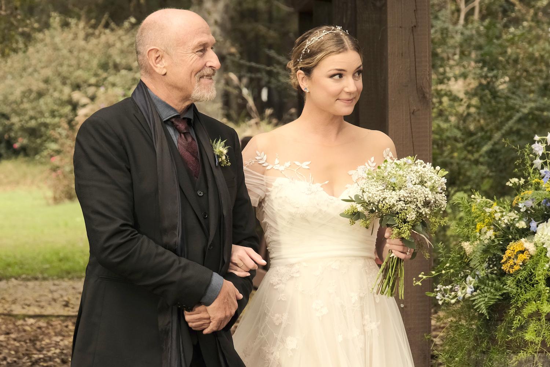 Corbin Bernsen Emily VanCamp The Resident Season 4 Wedding Nic Kyle
