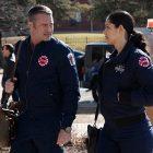 Miranda Rae Mayo et Taylor Kinney de Chicago Fire répondent à la grande question: Severide va-t-il déjà proposer?
