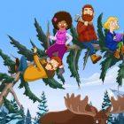 Jenny Slate, la star de `` The Great North '', présente la comédie animée `` Pittoresque '' et `` Kooky '' de Fox