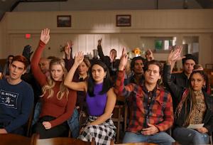 Riverdale saison 5 épisode 5 Archie Betty Veronica Jughead Toni