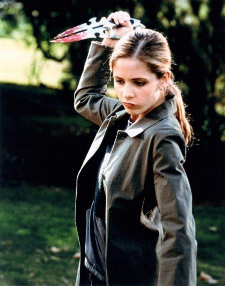 Buffy contre les vampires - Sarah Michelle Gellar, 1997-03.  TM et Copyright (c) 20th Century Fox Film