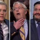 SNL: Mitch McConnell, Lindsey Graham et Ted Cruz se penchent sur l'acquittement de Trump