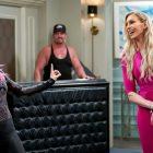 WWE Queen Charlotte Flair sur sa place d'invité `` Punky Brewster ''