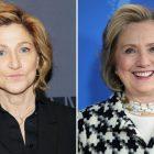 Edie Falco joue le rôle d'Hillary Clinton dans `` Impeachment: American Crime Story '' de FX