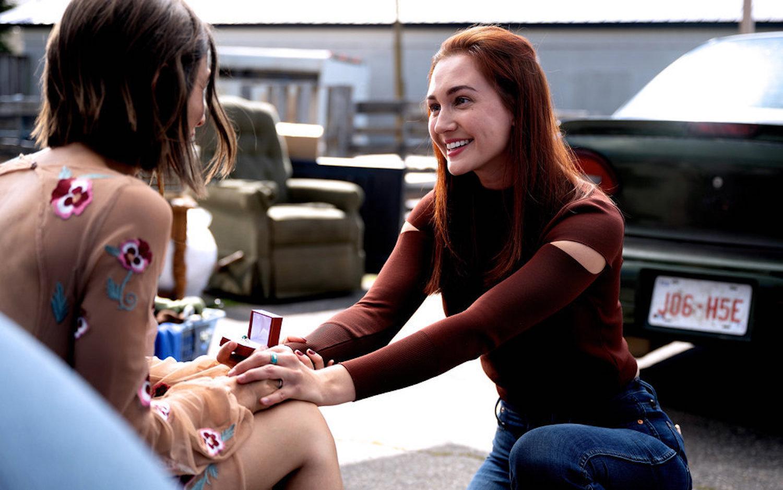 Katherine Barrell Wynonna Earp saison 4 épisode 7 Nicole Haught