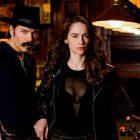 Première mi-saison de `` Wynonna Earp '': Tim Rozon explique pourquoi la très `` vraie histoire d'amour '' de Doc & Wynonna ne fonctionne pas
