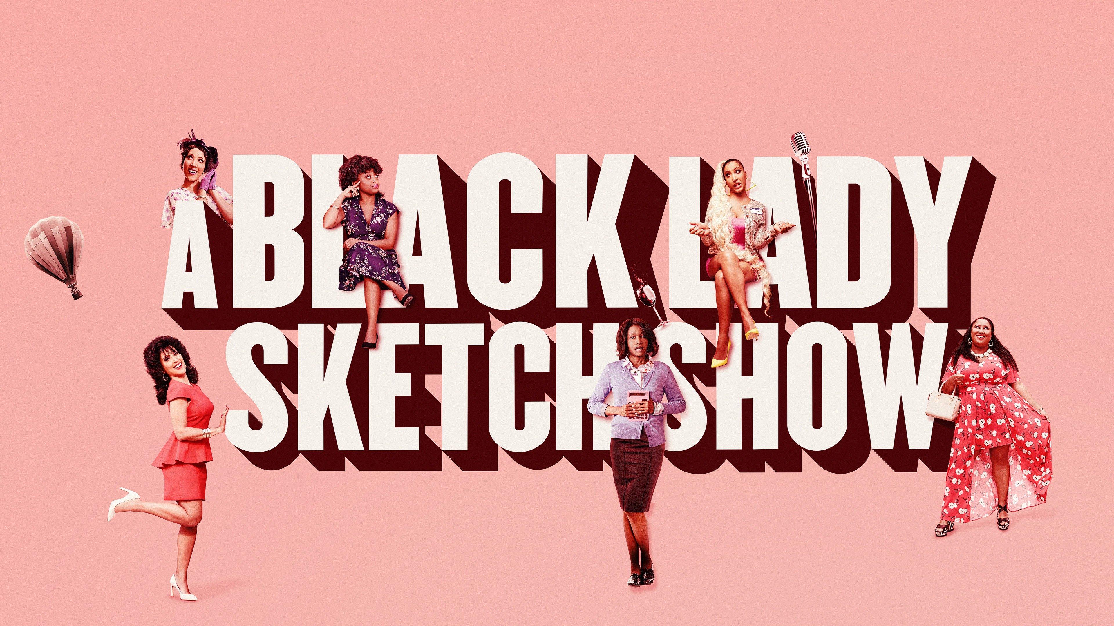 Un croquis de Black Lady Show Key Art
