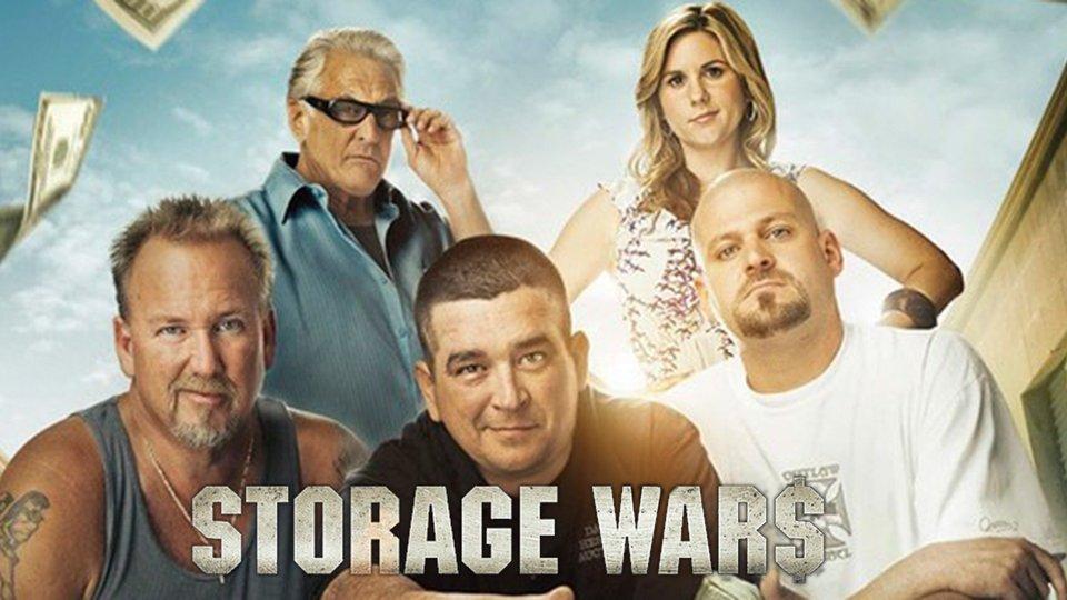 Art clé Storage Wars