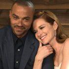 Grey's Anatomy `` Japril '' réuni: Sarah Drew partage une photo des coulisses de son retour en tant qu'April Kepner