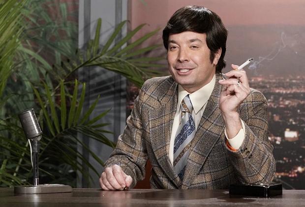 WandaVision rencontre l'émission de ce soir alors que Jimmy Fallon voyage à travers le temps de la télévision