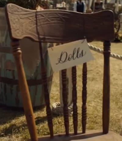 Chaise de mariage - Wynonna Earp
