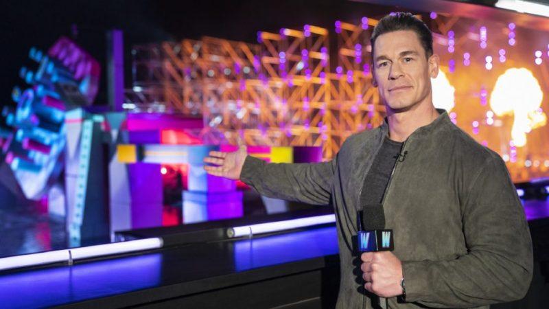 'Wipeout' Cohost John Cena sur le redémarrage de TBS – et s'il a tenté le cours