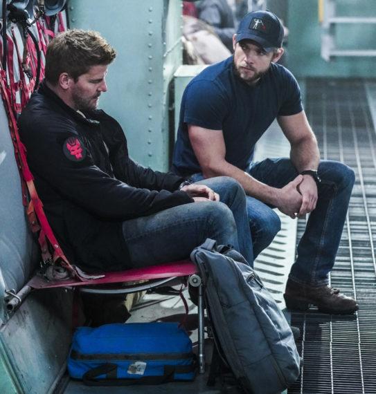 David Boreanax Max Thieriot SEAL Team Saison 4 Clay Jason