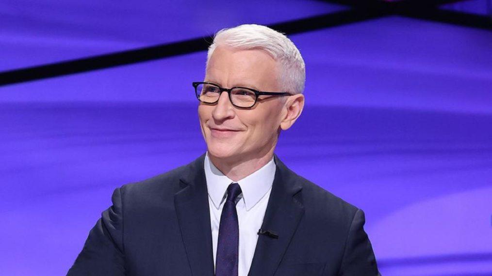 Comment Anderson Cooper fait-il en tant que «Jeopardy!»  Invité?  (SONDAGE)