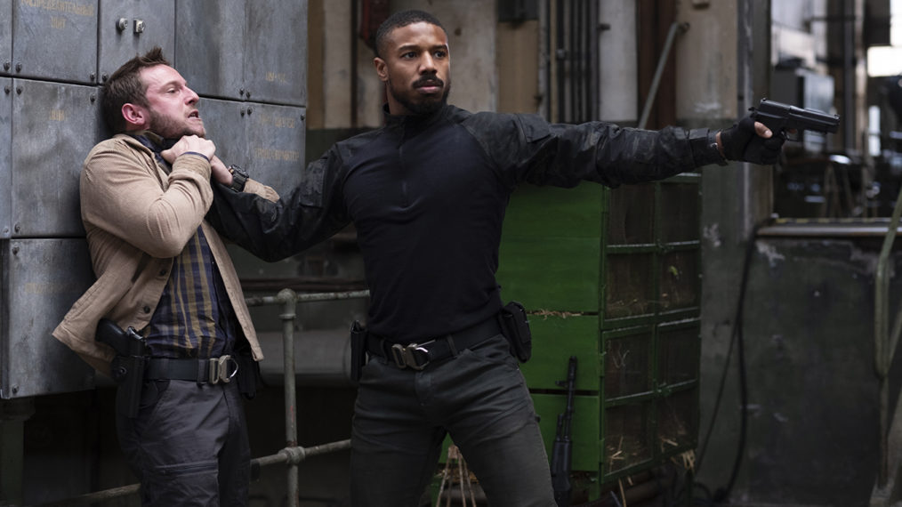 Dans le making of de Tom Clancy's 'Without Remorse' avec Michael B.Jordan