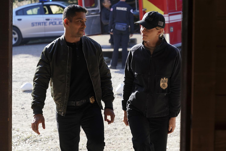 Torres Bishop NCIS saison 18 épisode 12 Sangre