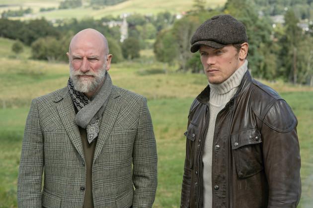 Récapitulation finale de Men in Kilts: Sam et Graham font un retour sombre sur le site de l'épisode le plus meurtrier d'Outlander