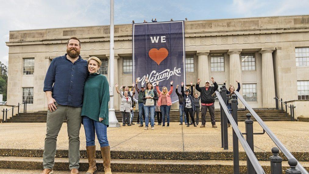 Ben et Erin Napier sur la prise de leur « prise de contrôle de leur ville natale » en Alabama