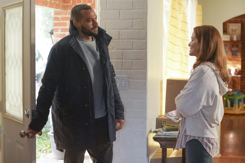 Jackson visite April Grey's Anatomy saison 17 épisode 14
