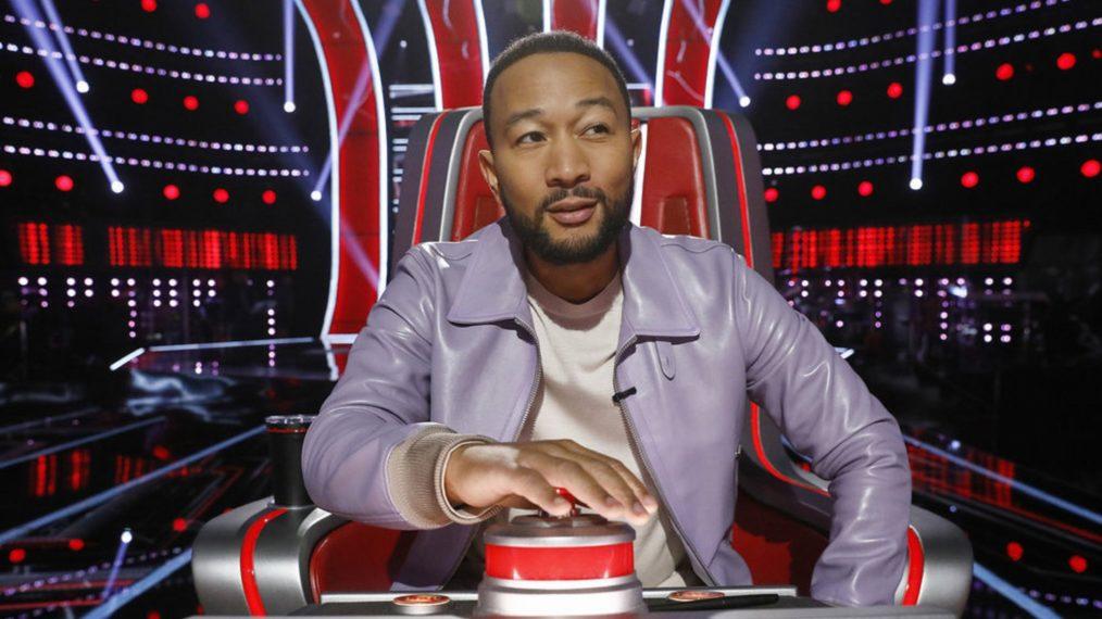 Aperçu de « The Voice »: John Legend écrit des chansons d'équipe pour ses collègues entraîneurs (VIDEO)
