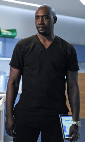 Morris Chestnut The Resident Saison 4 Finale Cain
