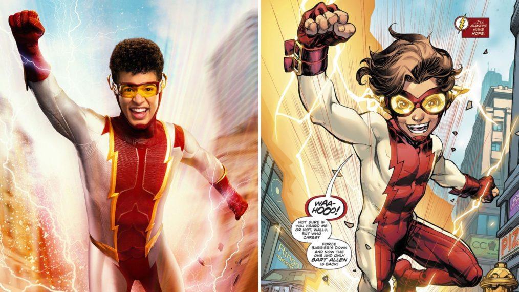 Premier coup d'œil à « The Flash »: voyez Jordan Fisher dans le rôle de Future Son Impulse de Barry et Iris (PHOTO)