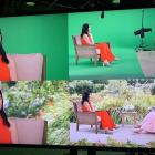 Julianna Margulies révèle que son entretien `` en personne '' à Oprah a été fait en utilisant un écran vert