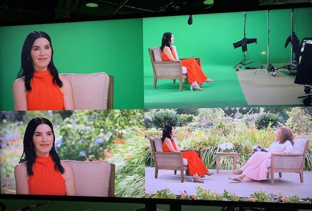 Julianna Margulies révèle que son entretien « en personne » à Oprah a été fait en utilisant un écran vert