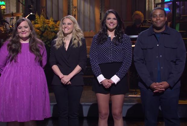 SNL Cast Shake-Up à venir?  McKinnon, Davidson et Strong Spark Spéculation sur les sorties de la finale de la saison 46