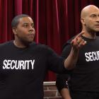 SNL: Regardez les gardes de sécurité de Keegan-Michael Key et Kenan Thompson arrêter Muppet Show Hecklers