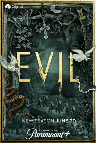 Evil TV show sur CBS : la saison 2 passe à Paramount+